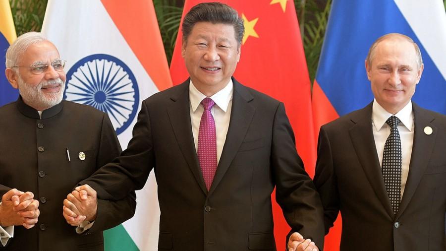 Путин угнал у Штатов Китай и Индию!