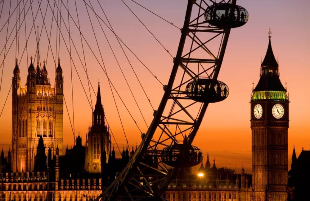 Знаменитый London Eye