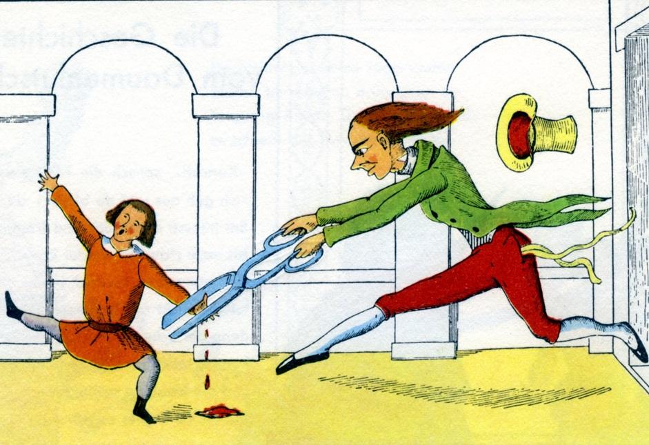 «Степка-растрепка» – немецкая книжка для детей, которая больше похожа на хоррор