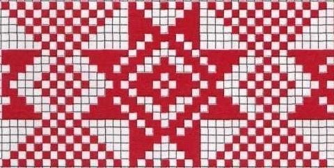 Схемы для бранного ткачества