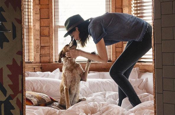 Странствующий фотограф рассказал о путешествиях со своей любопытной собакой