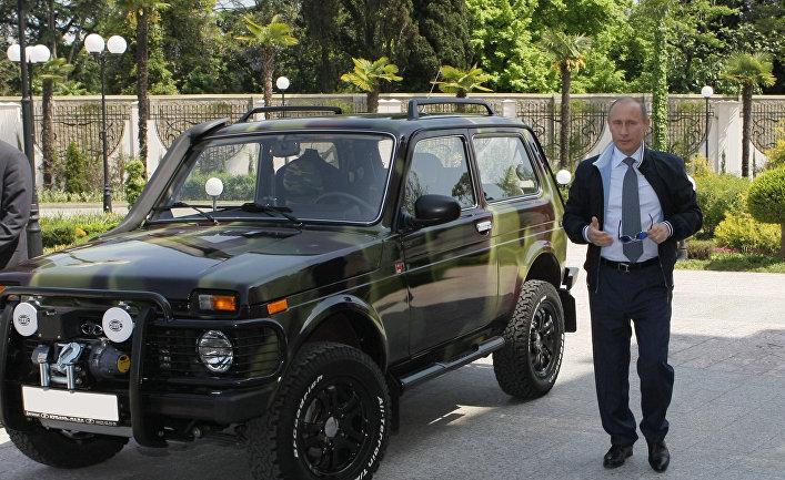 Секретный гараж Путина