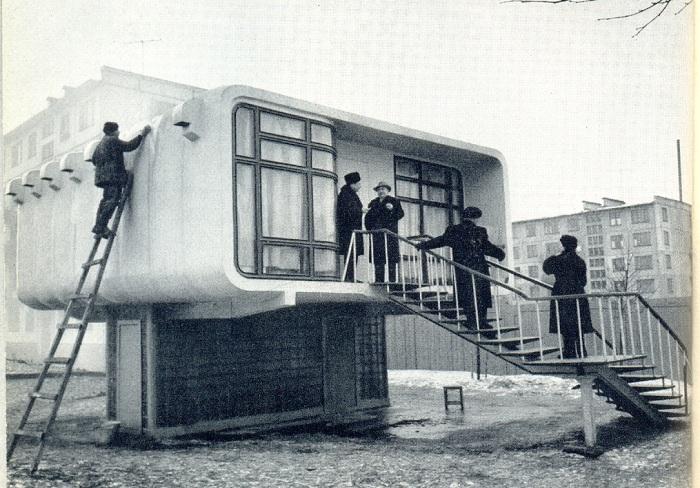 Советские дома из пластика, которые могли бы радикально изменить жизнь людей в стране
