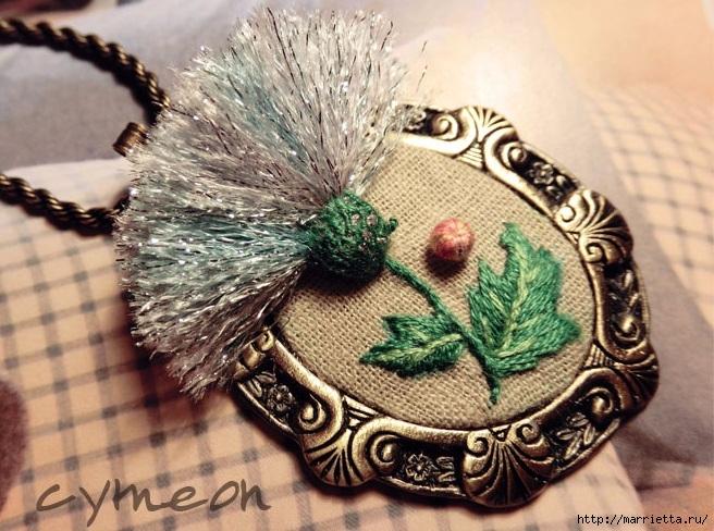 Объемная вышивка  — вдохновляющая подборка идей