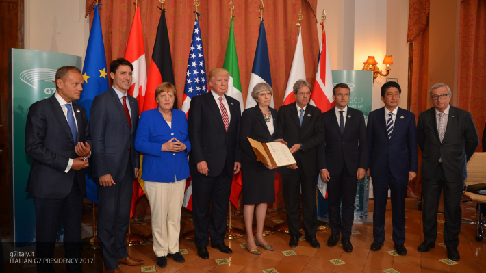 Европейские лидеры рассказали, за что «жёстко критиковали» Трампа на встрече G7