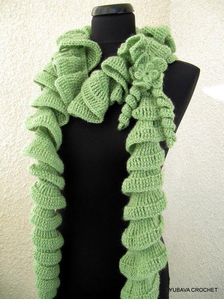 Спиральный шарф