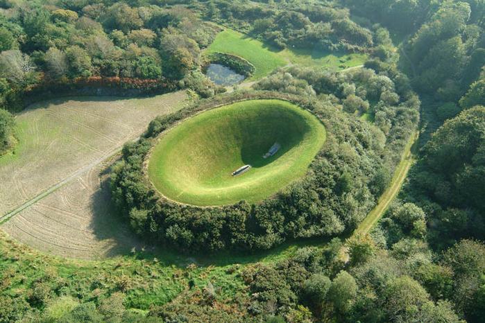Irish Sky Garden Crater - таинственное место в Ирландии