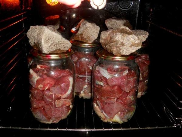 Как варить тушенку из говядины в домашних условиях пошаговый 427