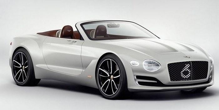 Bentley анонсировала первый роскошный электрокар