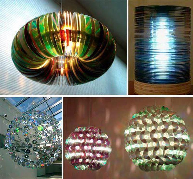 Самые разнообразные светильники диск, своими руками, сделай сам