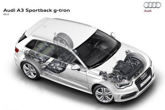Audi начинает продажи газовой версии A3