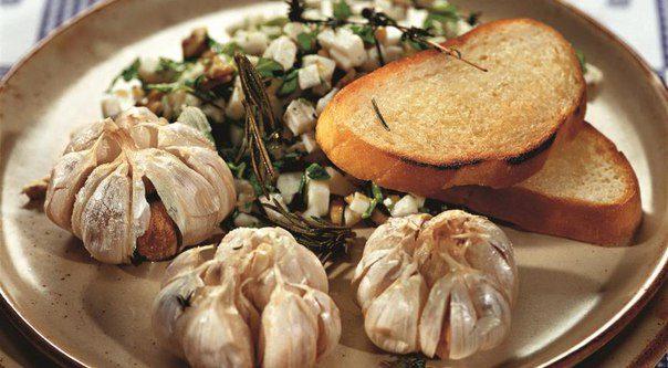 Полезные свойства печеного чеснока