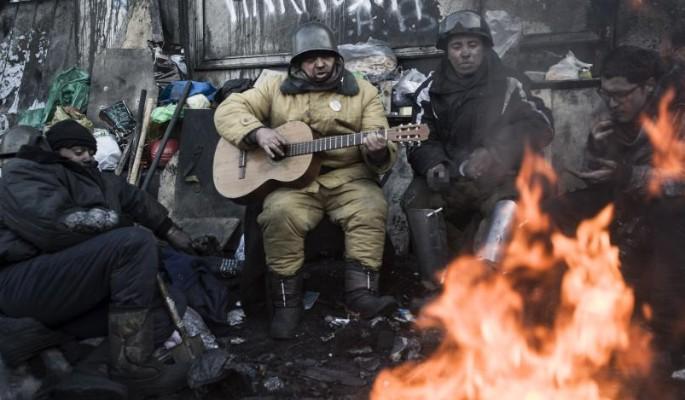 Замерзающие украинцы проклин…