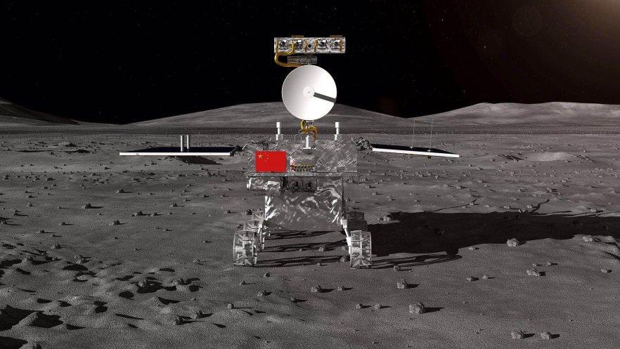Китайцы на обратной стороне Луны