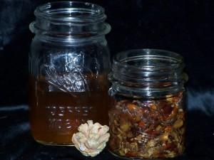 Настойка кедровых орехов при болях в спине