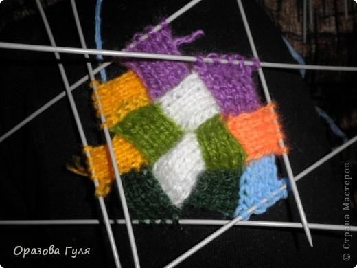 Гардероб Мастер-класс Вязание спицами Носки плетенкой мастер-класс Пряжа фото 31