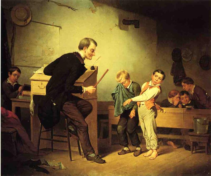 Порка в школе — надо вернуть право и достоинство учителю