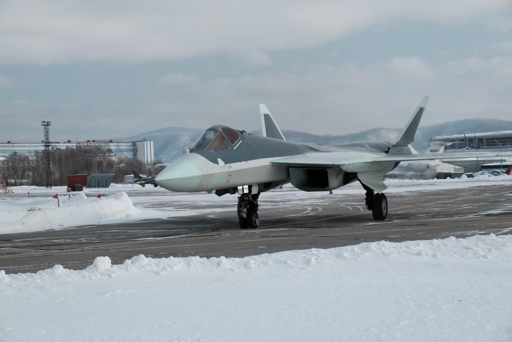 Первые опубликованные фотографии Т-50-8