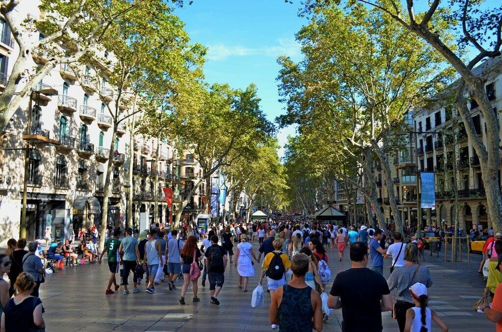 Улица Рамбла (Барселона)