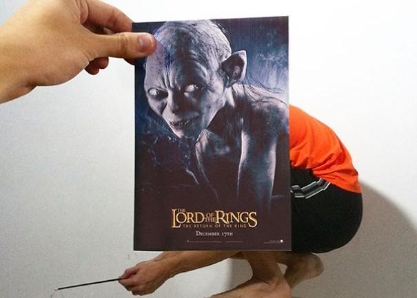 Сопоставление постеров знаменитых фильмов с реальной действительностью
