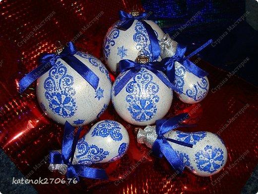 Мастер-класс Новый год Моделирование конструирование Новогодние шарики МК фото 14