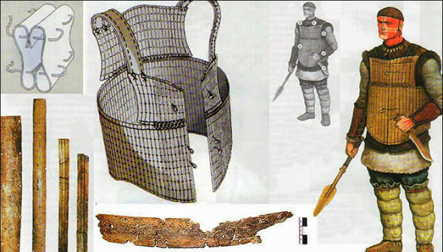 Броня из костей обнаружена на берегу Иртыша_2