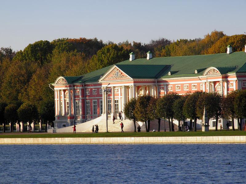 Осенняя прогулка по усадьбе Кусково
