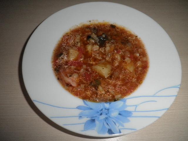 Острый суп Искра