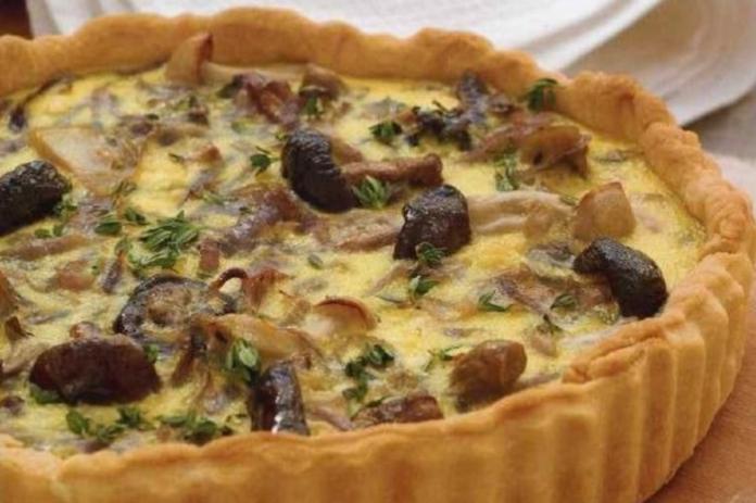 Пирог с грибами и сыром, который можно всем. Невероятно вкусно и сытно