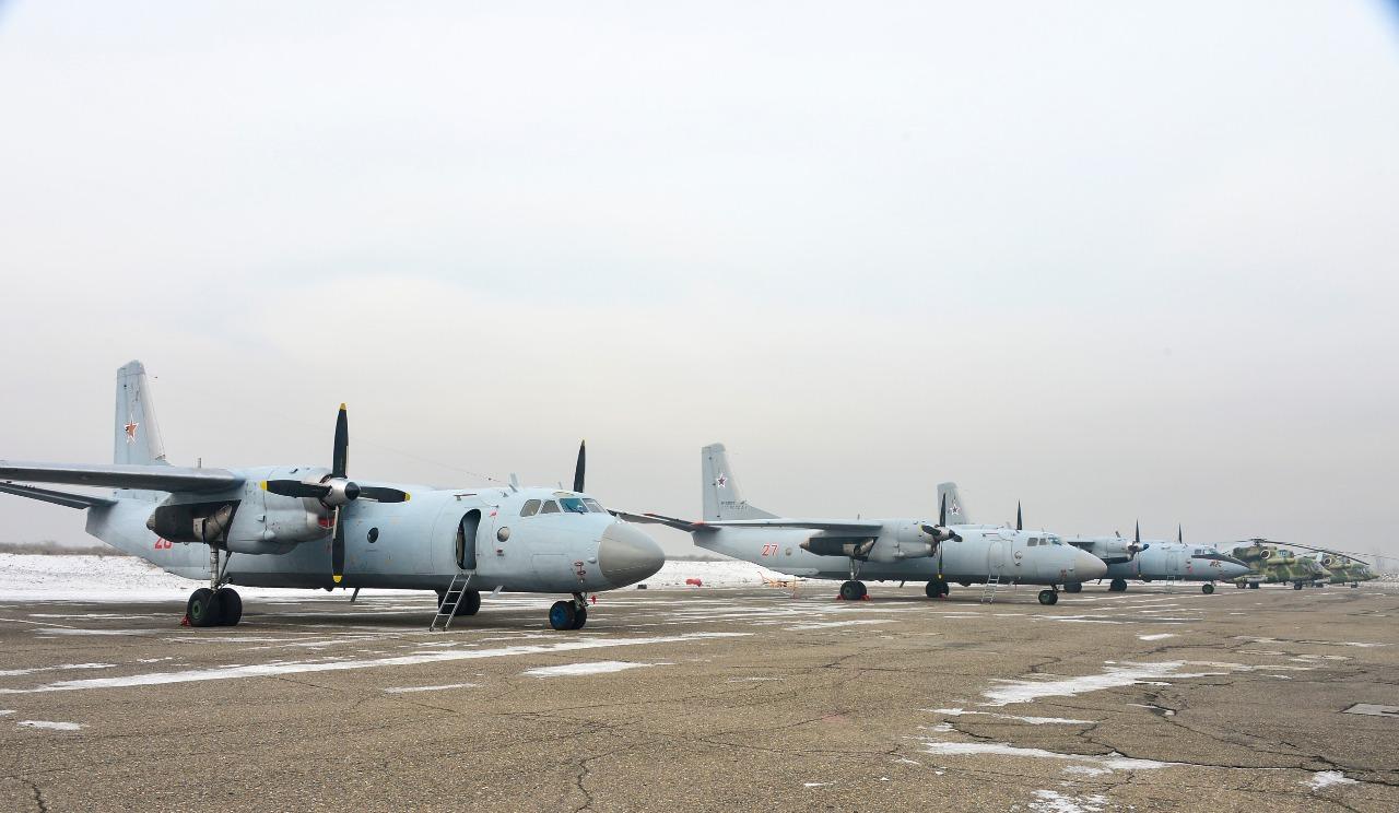 Смешанная авиационная эскадрилья в Туве