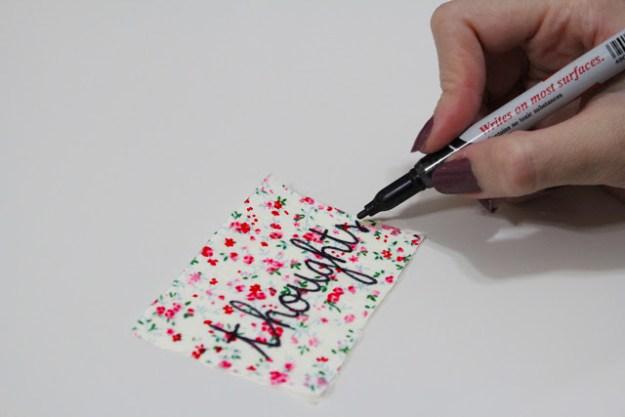 Украсить блокнота своими руками фото