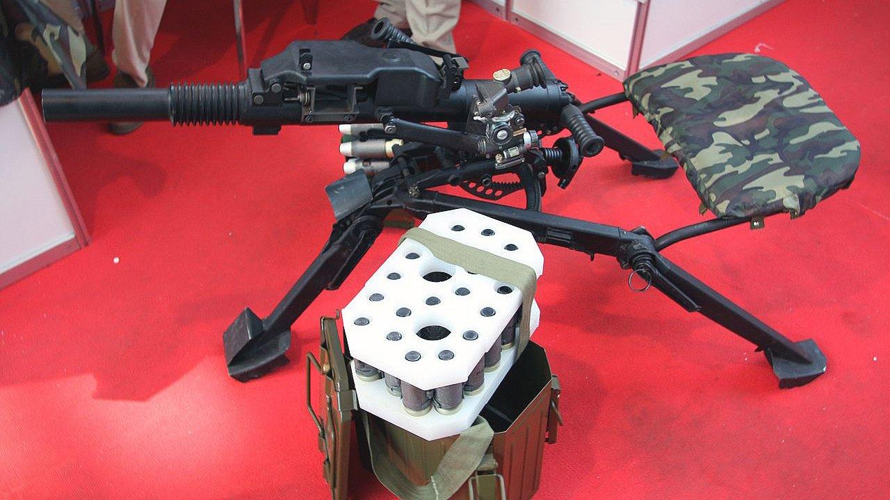 Новейший российский противопехотный гранатомёт получит «умные» боеприпасы