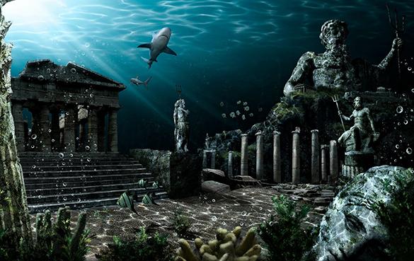 Потерянная в веках Атлантида…