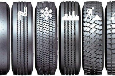 Виды и типы автомобильных шин
