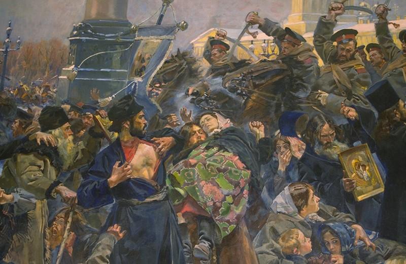 Кровавое воскресенье. Русскую революцию 1905 г. устроил... Николай II?
