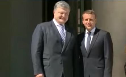 Порошенко рассказал Макрону об Анне Киевской