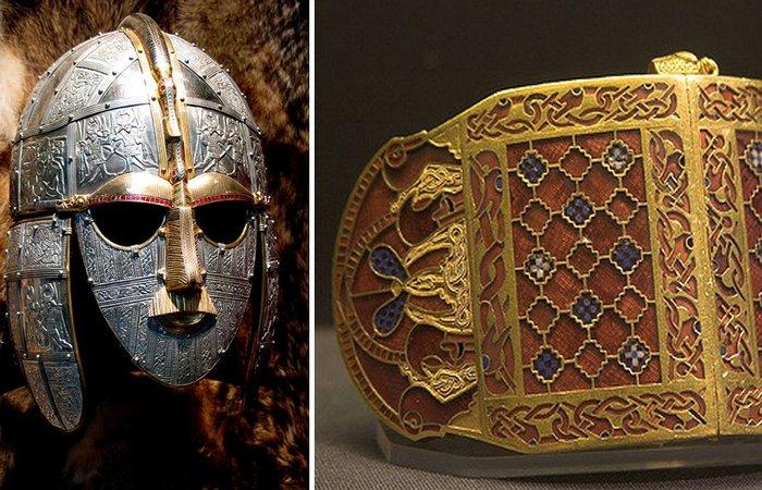 Некрополь Саттон-Ху: что нашли британские археологи в могиле короля Редвальду