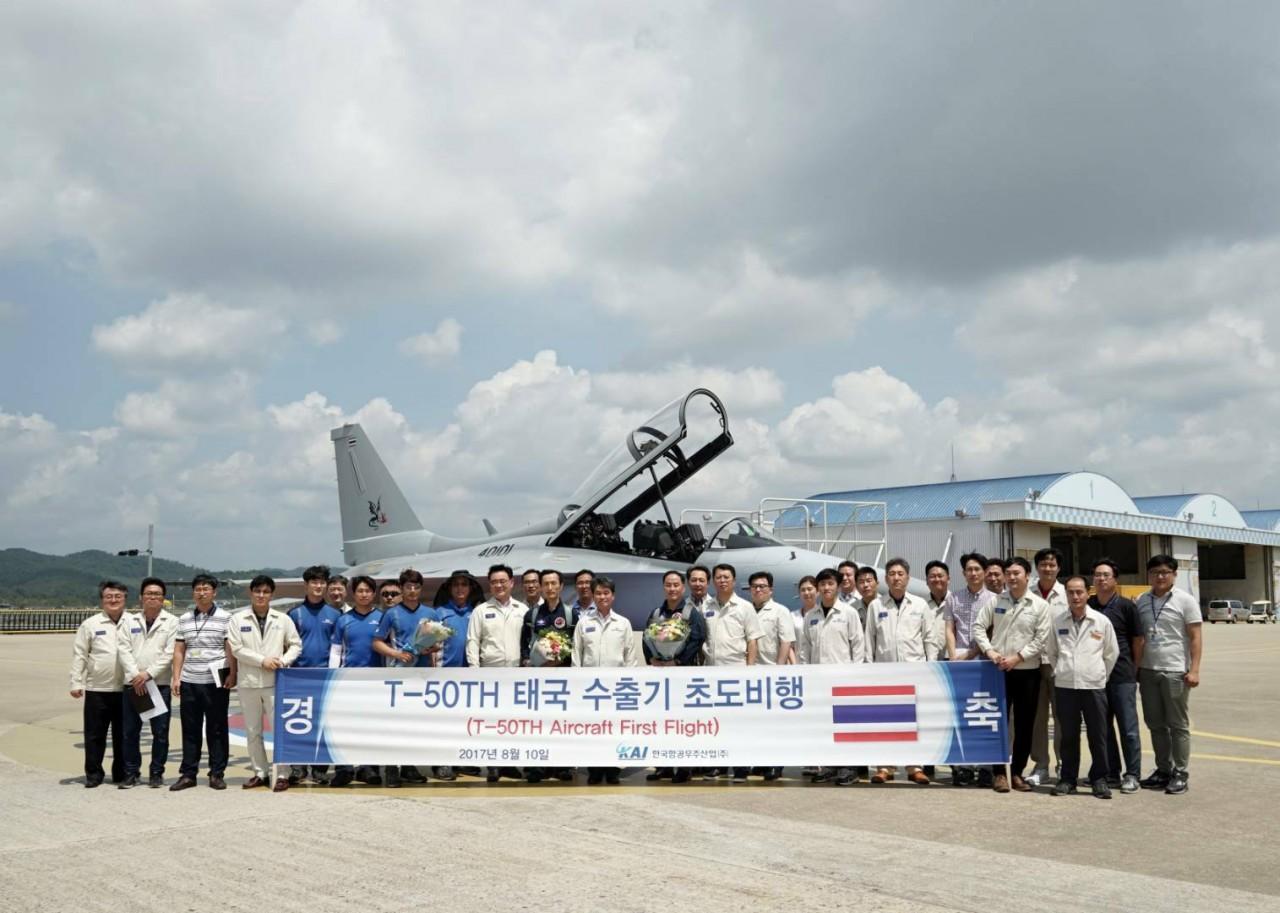 Первый самолет Т-50ТН для Таиланда