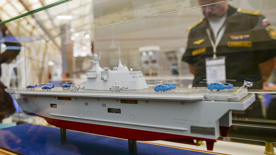 «Отказ от «Мистралей» не повлиял на ВМФ России». Интервью с председателем совета по кораблестроению коллегии ВПК
