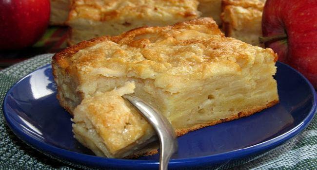 Яблочный пирог по рецепту Си…