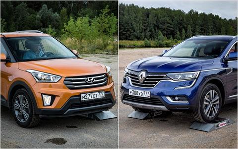 Hyundai Creta или Renault Koleos: чей полный привод круче? Часть 1