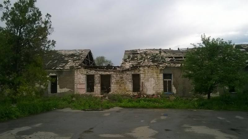 В Новороссии постепенно отстраивают инфраструктуру и жилье