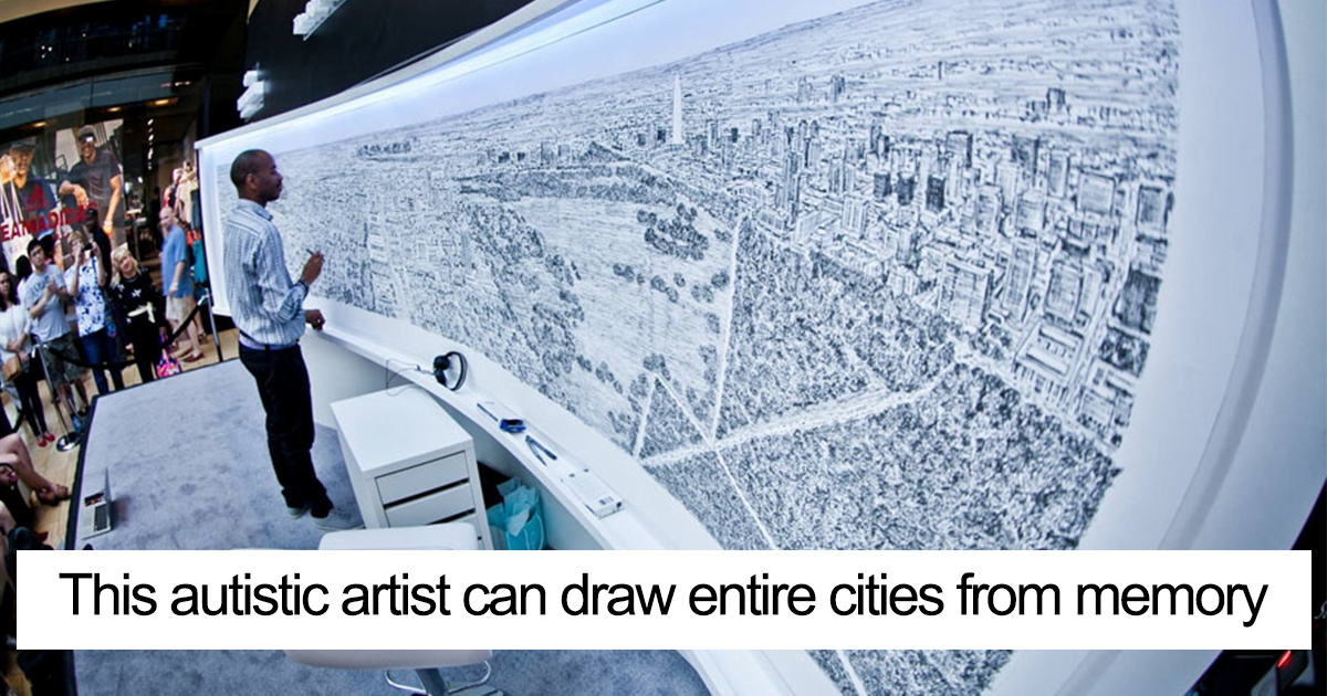 We Can't Believe What These 15+ Artist Can Do Despite Their Disabilities
