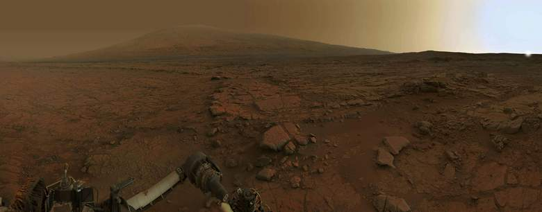 На Марсе много чего интересного…