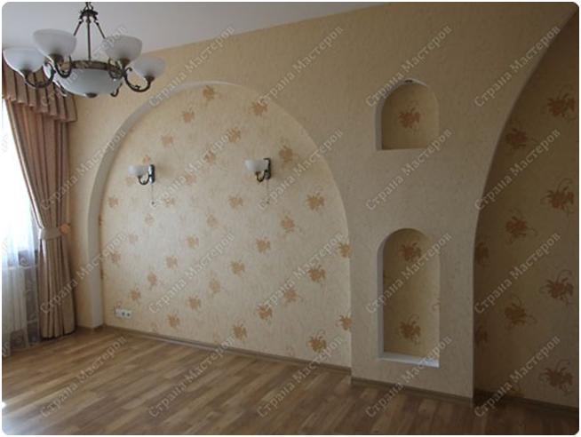 Арки в стене фото