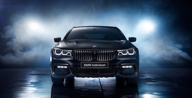 BMW 7-Series для РФ получил свецверсию Edition Black Ice