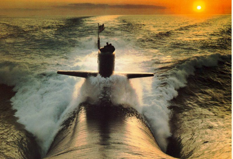 крик подводной лодки слушать