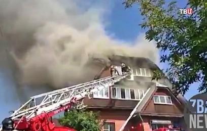В результате пожара в доме престарелых в Красноярске погиб один человек