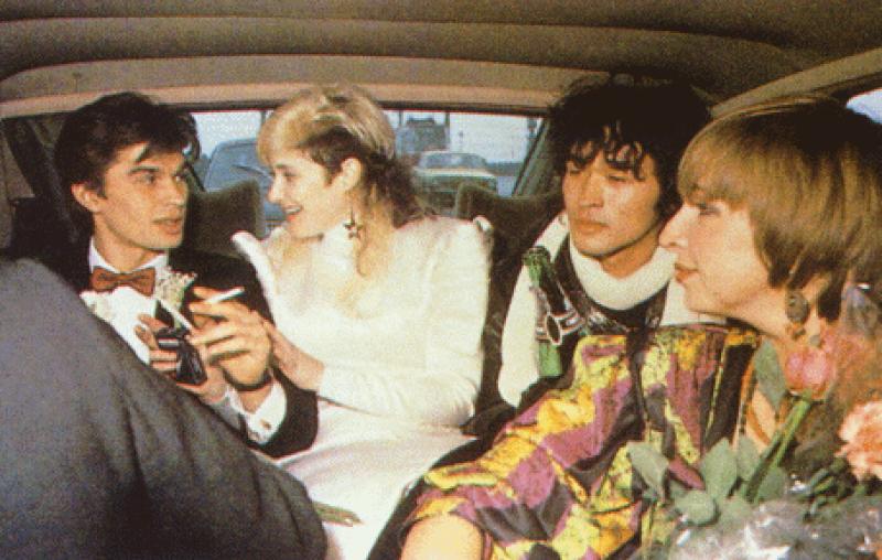 В преддверие 90-ых: Свадьба Джоанны Стингрей и Юрия Каспаряна 2 ноября 1987