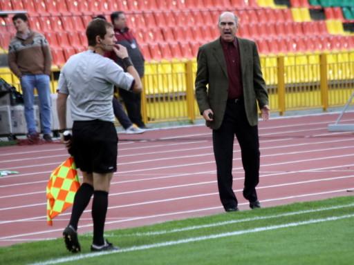 Бердыев дисквалифицирован на 3 матча чемпионата России (видео)